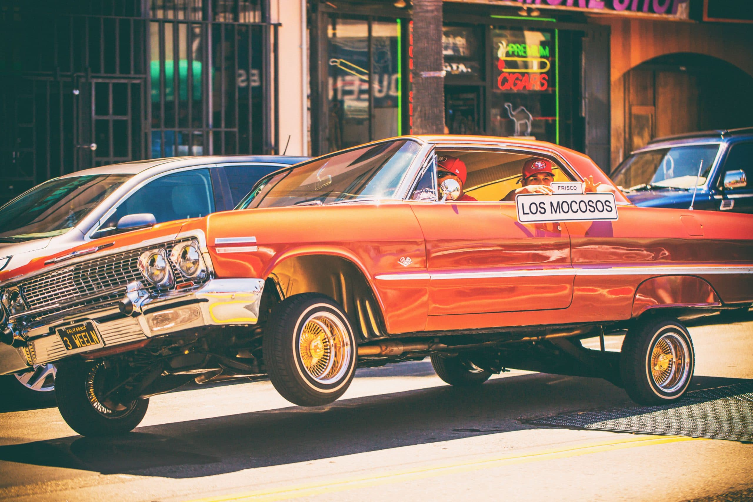 Lowriders in the Mission